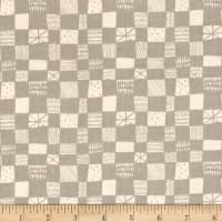 Cotton + Steel Printshop Grid Grey