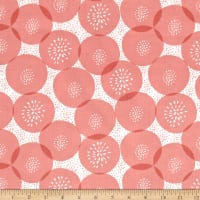 Mod About You Floral Polka Dot Coral