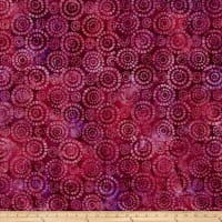 Wilmington Batiks Parasols Purple/Red