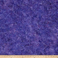 Wilmington Batiks Splash Dots Purple