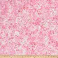 Wilmington Batiks Long Leaves Pink/Lavender