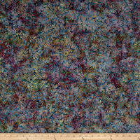 Wilmington Batiks Curlicues Blue/Multi