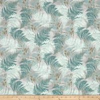 Neutral Nature Ferns Allover Grey