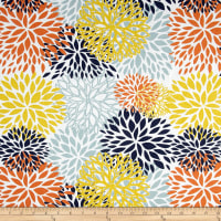 Premier Prints Blooms Cotton Duck Maya