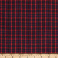 Tartan Plaid Red/Navy