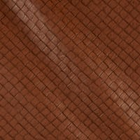 Faux Leather Tile Basketweave Rustica