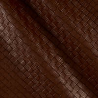 Faux Leather Tile Basketweave Oak