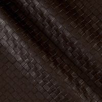 Faux Leather Tile Basketweave Bistro