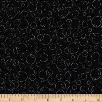 "Westrade 110"" Wide Quilt Back Champagne Black"