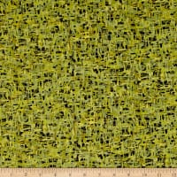 Palindromes Crosshatch Green/Olive