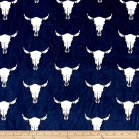 Shannon Studio Minky Cuddle Bull's Eye Navy