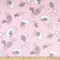 Shannon Sweet Melody Designs Minky Cuddle Dream Big Blush