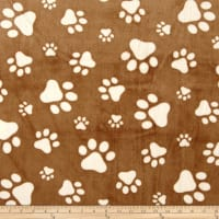 Shannon Minky Cuddle Paws Capp/Ivory