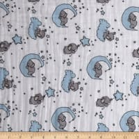 Shannon Sweet Melody Designs Embrace Double Gauze Little One Baby Blue