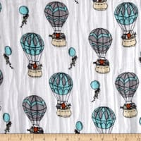 Shannon Sweet Melody Designs Embrace Double Gauze Up Up And Away Saltwater