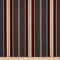 Mayfair Wide Stripe Gray Natural
