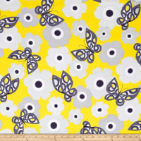 Kanvas Zest Mod Butterfly Yellow