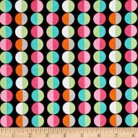 Kanvas Girls Rock Cool Dot Black/Multi