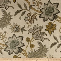 Waverly Jacobean Flair Vermeil Linen