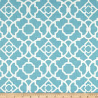 Waverly Lovely Lattice Aqua