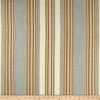 Waverly Stripe Ensemble Robins Egg Blue Linen