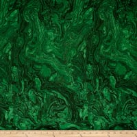 "118"" Wide Quilt Back  Marble Emerald"