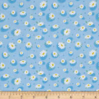 Doo Dads Daisies Blue