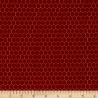 Rooster Inn  Chicken Wire Red