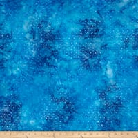 Wilmington Batiks Mini Dots Sea Blue