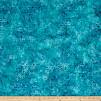 Wilmington Batiks Mini Dots Aqua