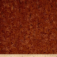 Wilmington Batiks Flourish Saddle Brown
