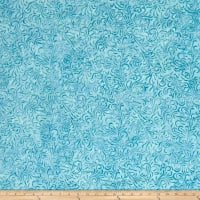 Wilmington Batiks Flourish Aqua