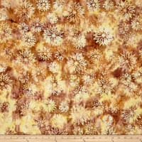 Timeless Treasures Tonga Batik Copper Snowflake Mix Marsh