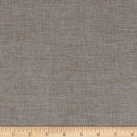 Eroica Cosmo Linen Look Home Decor Fabric Blue Grey