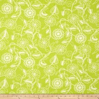 Clean Living Floral Green