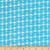 Alpine Flannel Anchor Blue