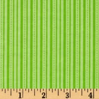 Alpine Flannel Stripe Lime