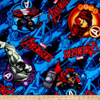 Marvel Assemble Fleece Multi