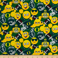 Collegiate Cotton University of Oregon Emojis