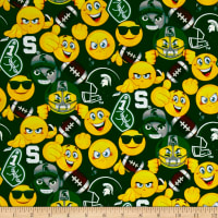 Collegiate Cotton Michigan State University Emojis