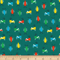 Cloud 9 Organics Sidewalk Interlock Knit Bug's Life Green