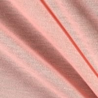 Poly Jersey Knit Solid Blush