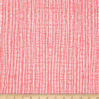 Double Brushed Poly Spandex Jersey Knit Milana Abstract Hot Pink