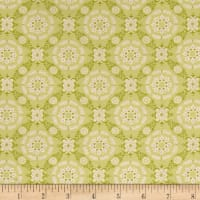 Moda Fleurs Circle Lattice Sprout