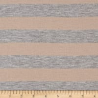Tissue Jersey Knit Rose Heather Grey