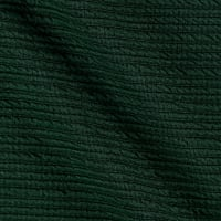 Telio High Low Pique Knit Green