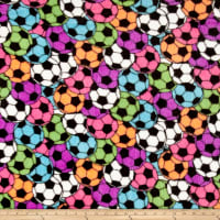 Whisper Plush Fleece Soccer Stadium Bright
