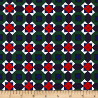 Kanvas Argyle Geo Plaid Check Multi