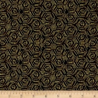 Fall's Canvas Hexagons Dark Brown