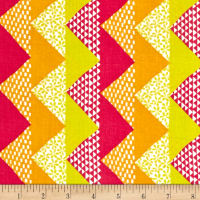 Moda Quilt Blocks Chevron Spectrum